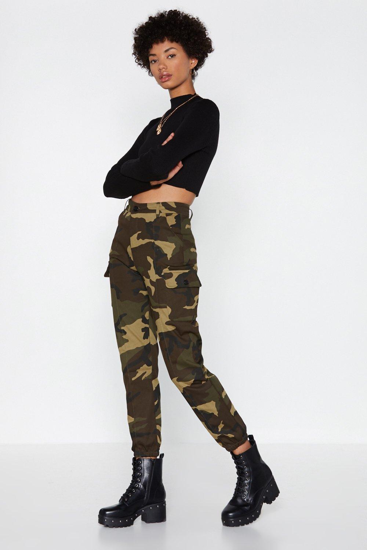 3a58b109563fb Action Woman Camo Pants | Shop Clothes at Nasty Gal!