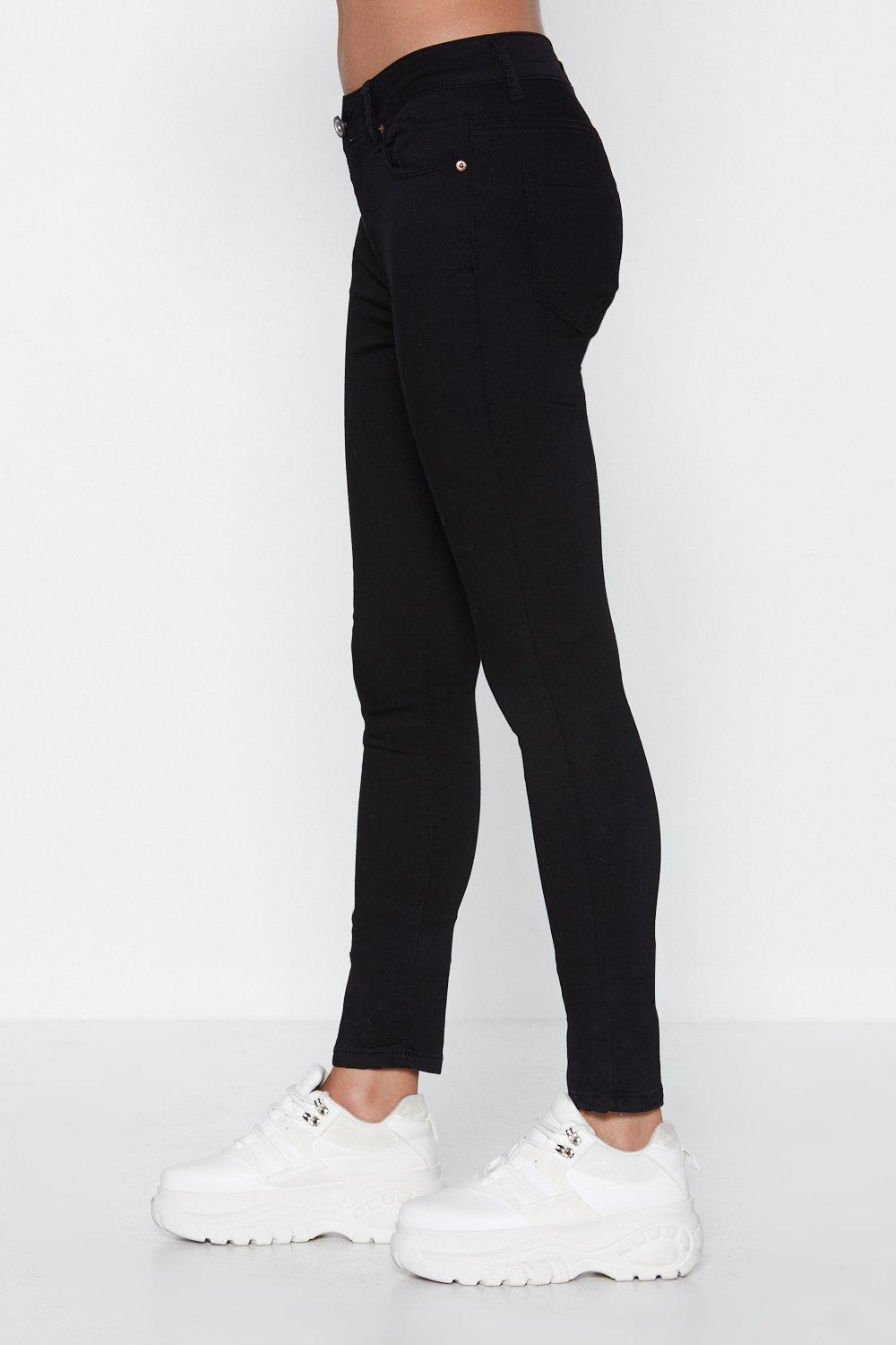 a4b8913bd1 A Leg in the Door Skinny Jeans | Shop Clothes at Nasty Gal!