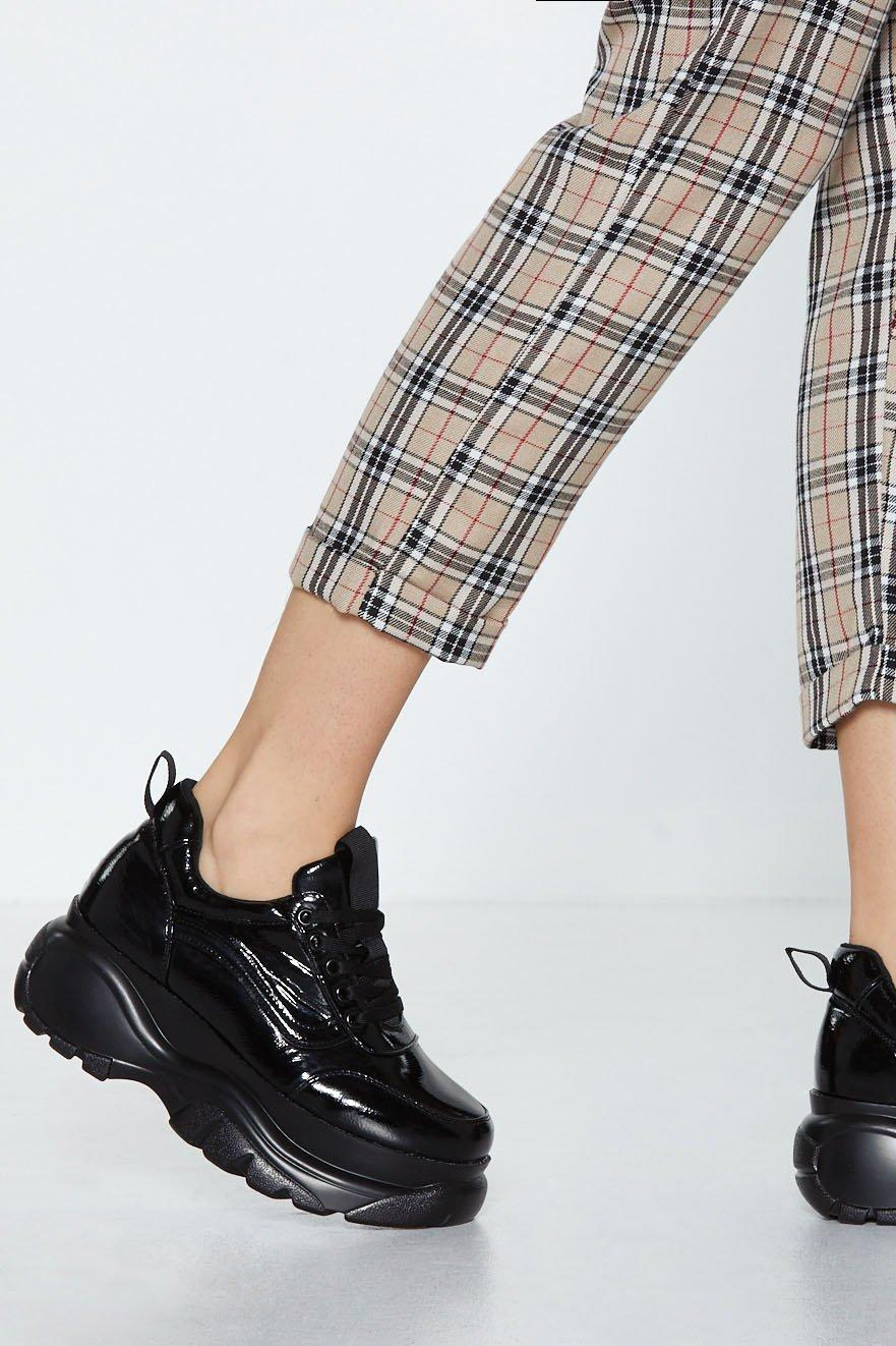 If You Wanna Be My Lover Chunky Sneaker by Nasty Gal
