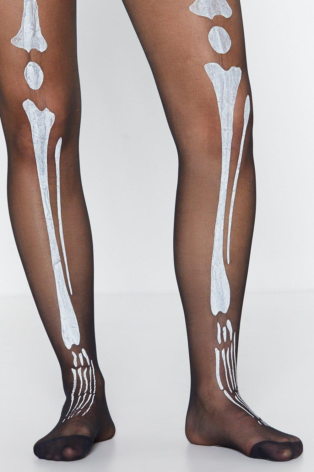 fc7ff13d2815e Bare Legs Skeleton Tights   Shop Clothes at Nasty Gal!