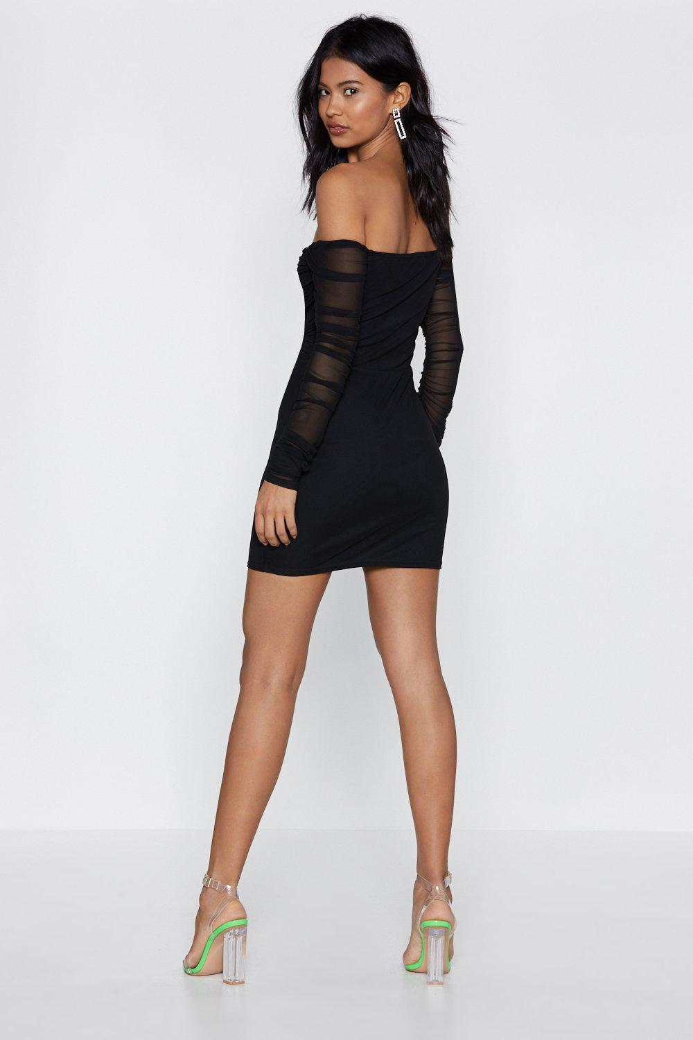098b2f9a943 ... Off-the-Shoulder Dress. Hover to zoom
