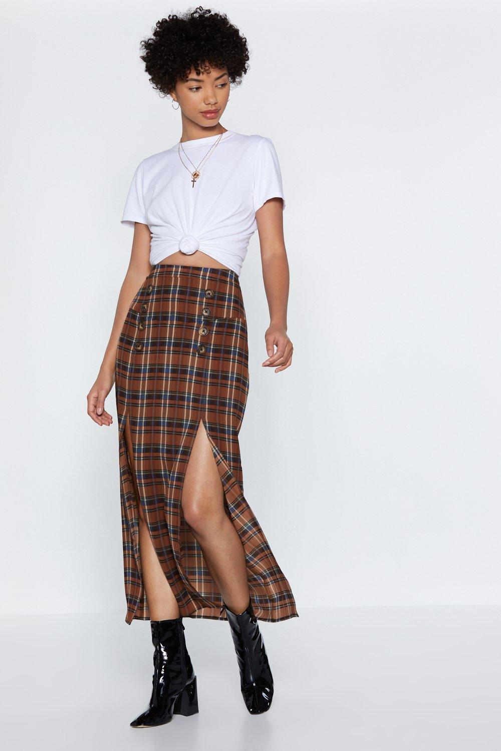 7badcc6ff8803 Do the Splits Maxi Skirt