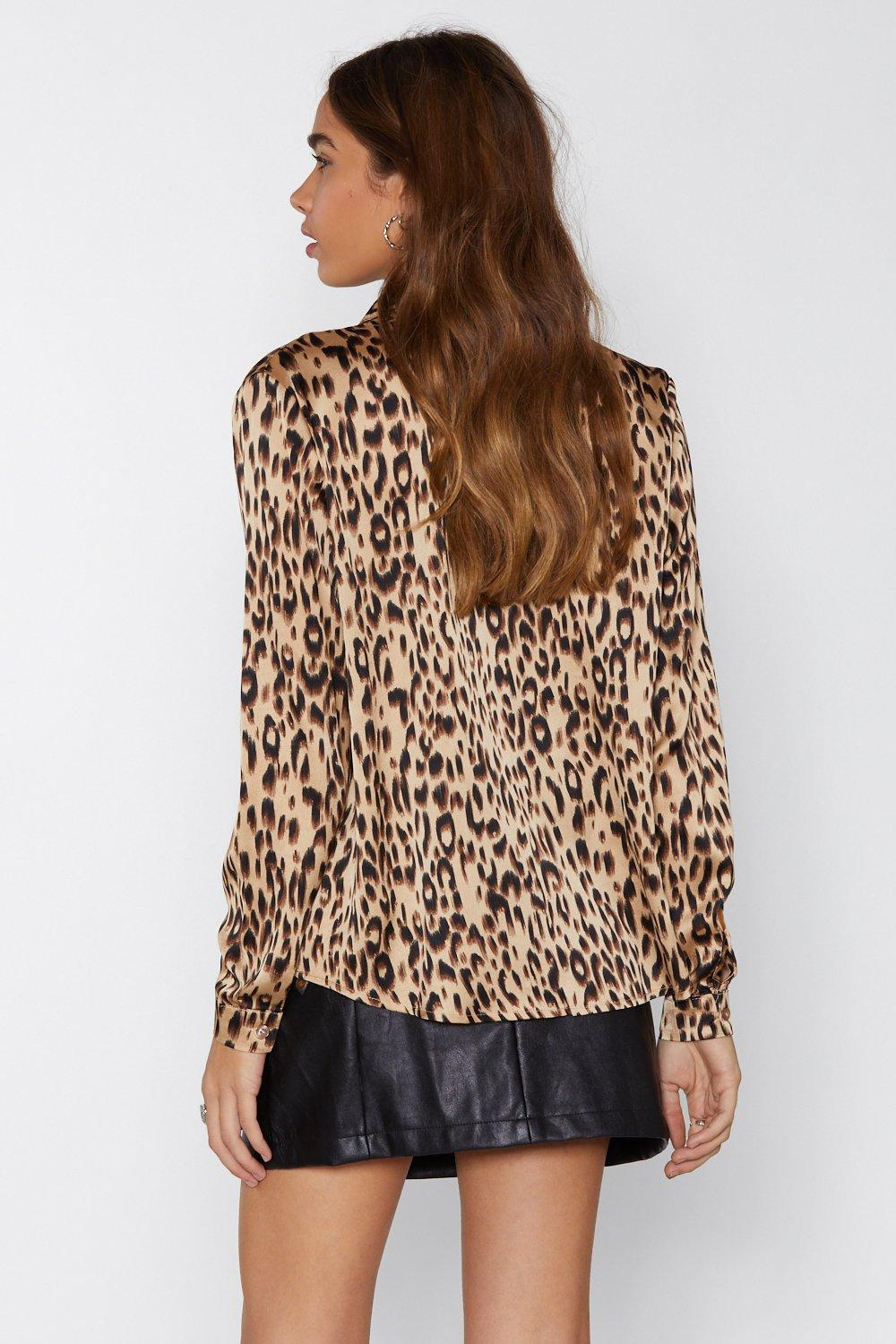 Leopard Print Shirt. Hover to zoom d5e5bc99e