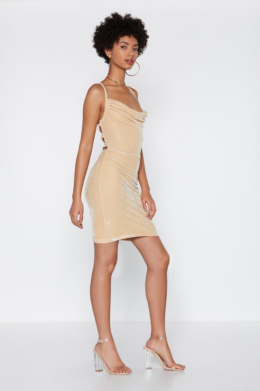 921961ce3259 Back On It Strappy Velvet Dress | Shop Clothes at Nasty Gal!