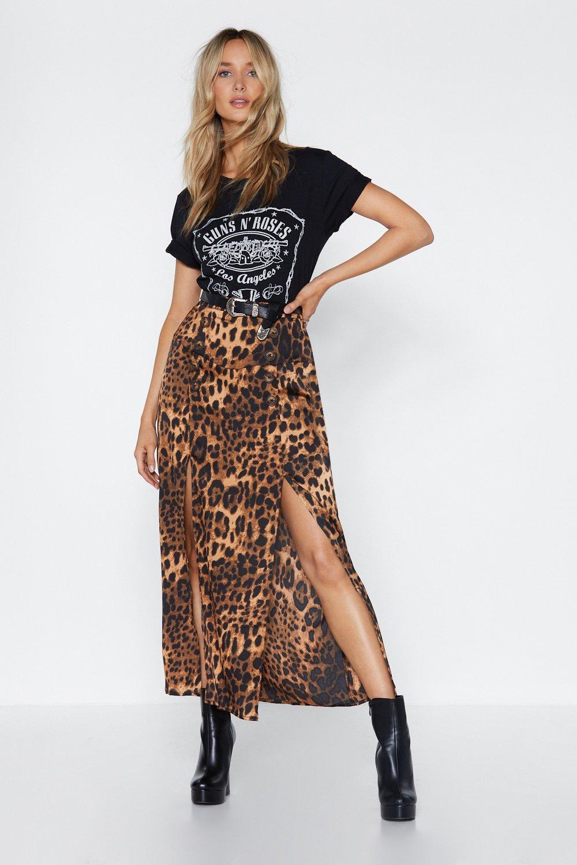 7c9809b65c8ff8 I Want It That Way Leopard Maxi Skirt | Shop Clothes at Nasty Gal!
