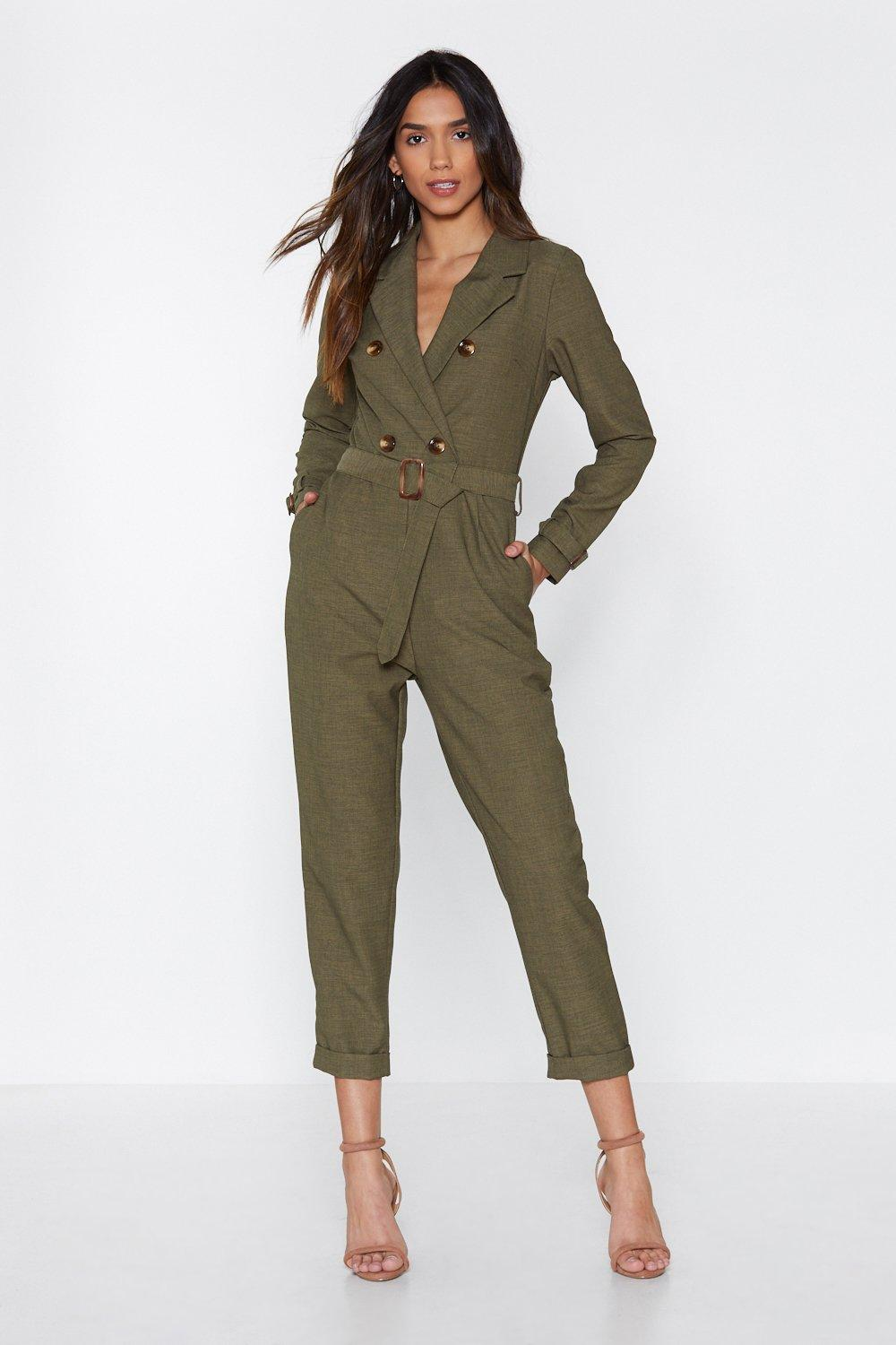 2486d7127f Pull Yourself Together Belted Jumpsuit | Shop Clothes at Nasty Gal!
