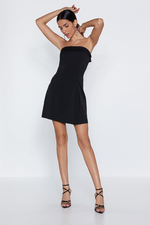 Strapless Mini Dresses Heels