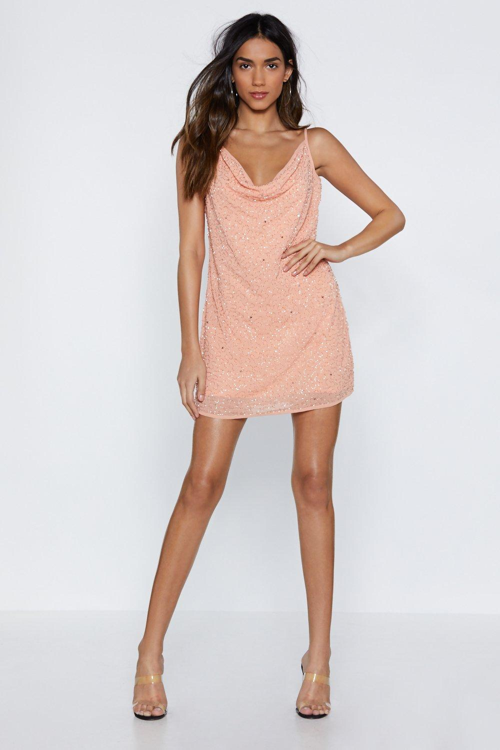 c6f1bccbf8 Beads Me Embellished Mini Dress | Shop Clothes at Nasty Gal!