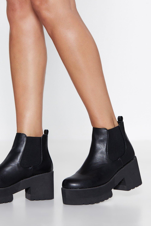 2b80d6a6311 Black Platform Chelsea Boots – Idées d'images à la club