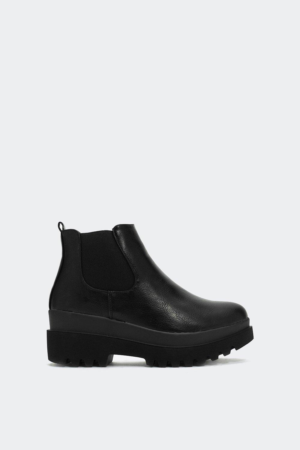 I Like Big Boots Platform Boot by Nasty Gal