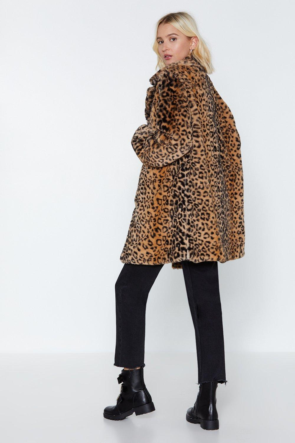 cf939367487b Born to Be Wild Leopard Faux Fur Coat | Shop Clothes at Nasty Gal!