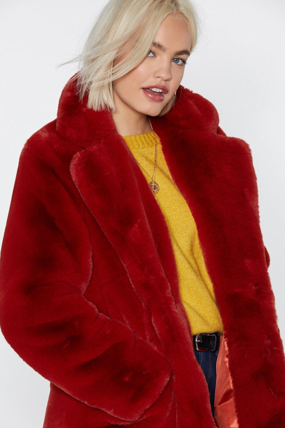 780e886afa8a Surfin' Bird Faux Fur Coat | Shop Clothes at Nasty Gal!