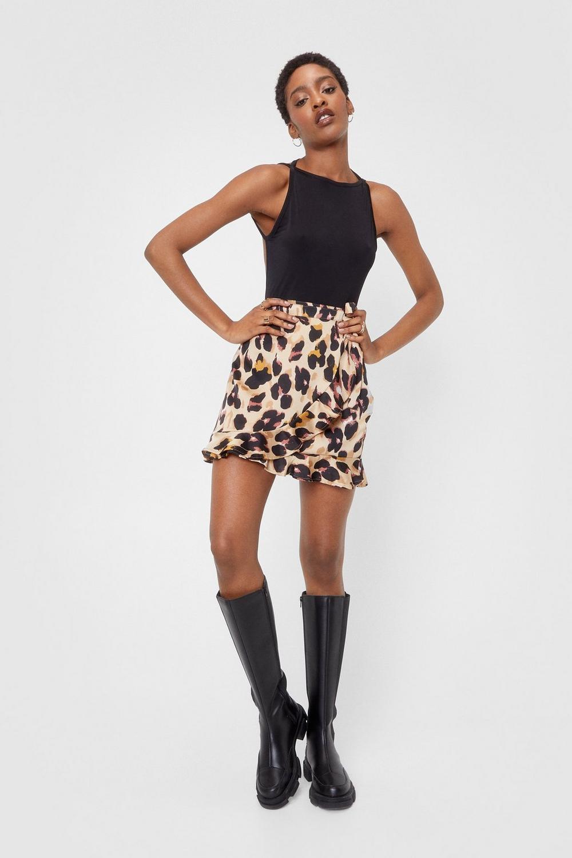 8b2f2c5f417f So Fierce Leopard Wrap Skirt   Shop Clothes at Nasty Gal!