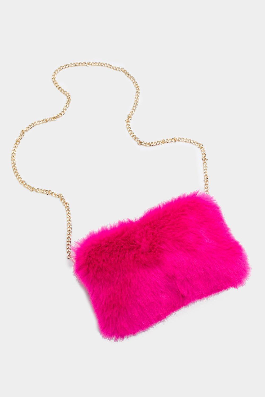 WANT Along Fur the Ride Faux Fur Bag  49a899bc1d2f8
