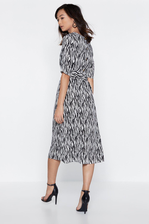 9f8c97bc7857 Zebra Crossing Midi Dress | Shop Clothes at Nasty Gal!