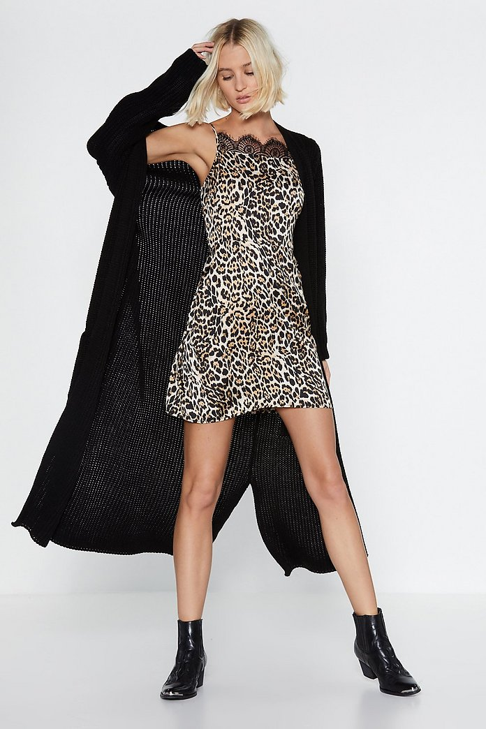 Go Leopard Or Go Home Lace Dress Shop Clothes At Nasty Gal