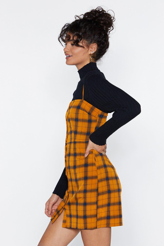 0620c1d9dae53 Clueless Plaid Mini Dress | Shop Clothes at Nasty Gal!