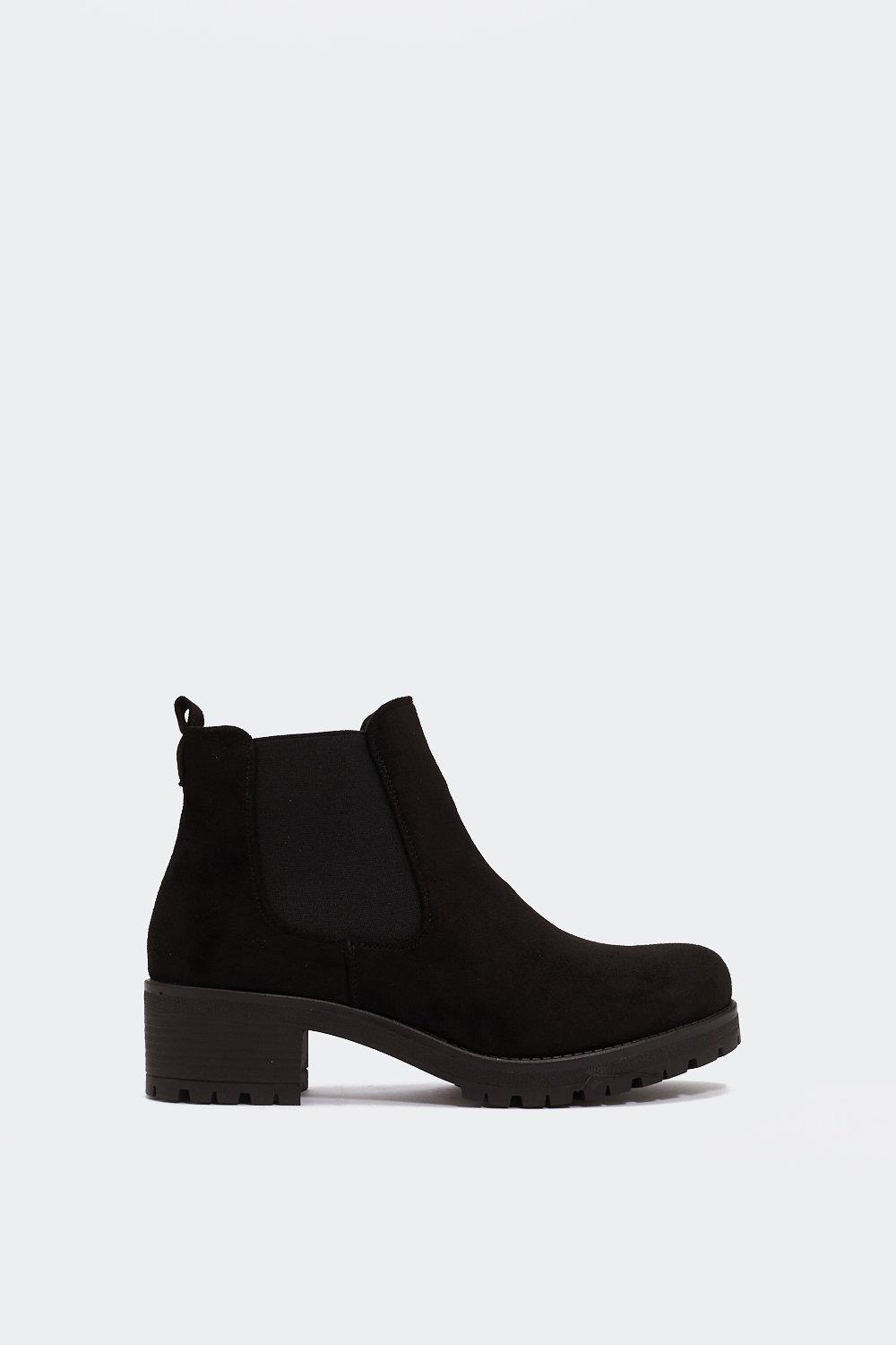 Suited And Booted Chelsea Boot by Nasty Gal