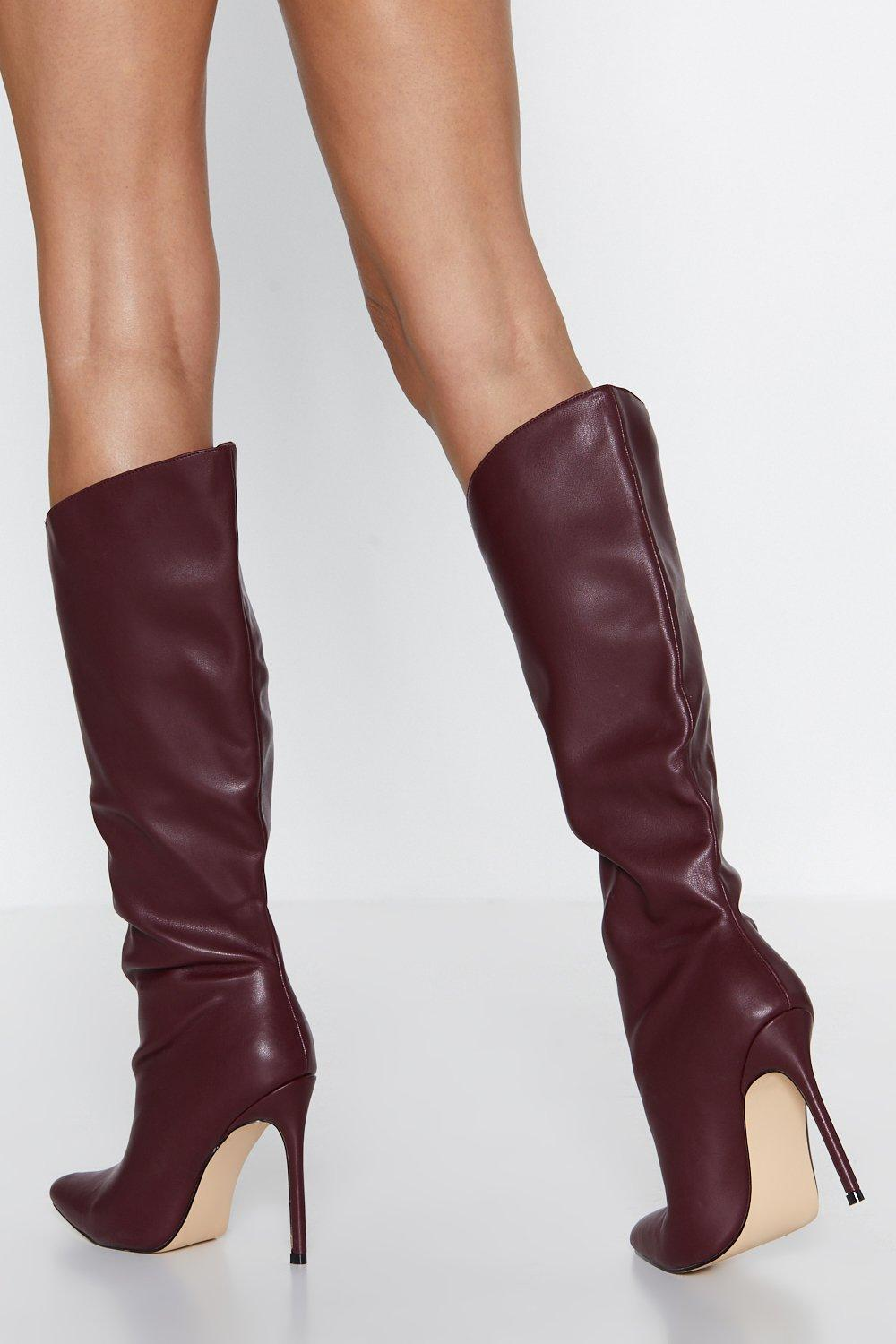 100% genuine modern and elegant in fashion 2019 hot sale Wicked Heart Knee-High Boot   Shop Clothes at Nasty Gal!