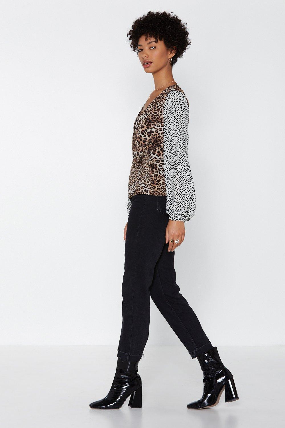 d5c85041e34c Hunt High and Low Leopard Top