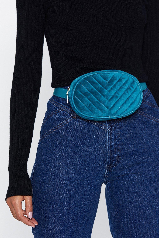 WANT Quilt for Stamina Velvet Belt Bag
