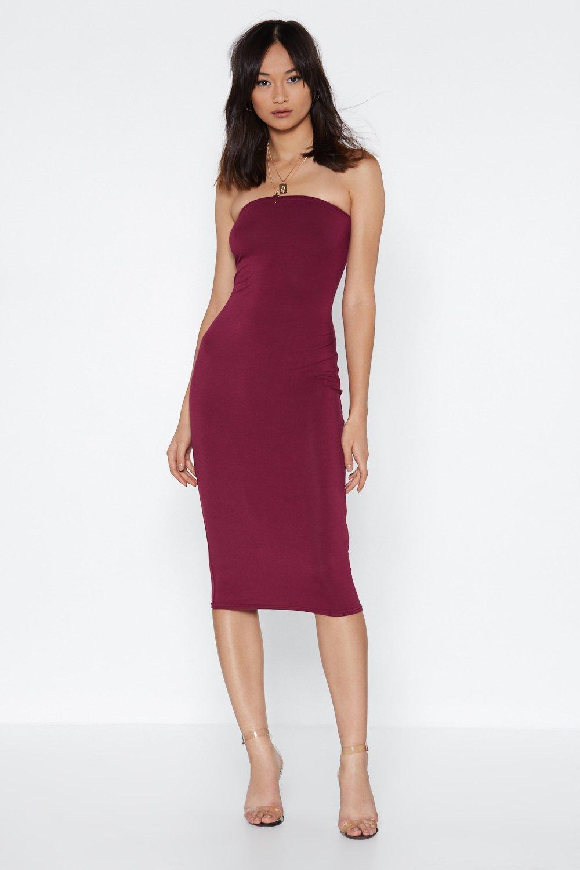 Simple Strapless Dress