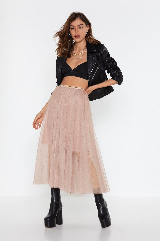 11cf7b93f3b2 Tulle Good Midi Skirt | Shop Clothes at Nasty Gal!