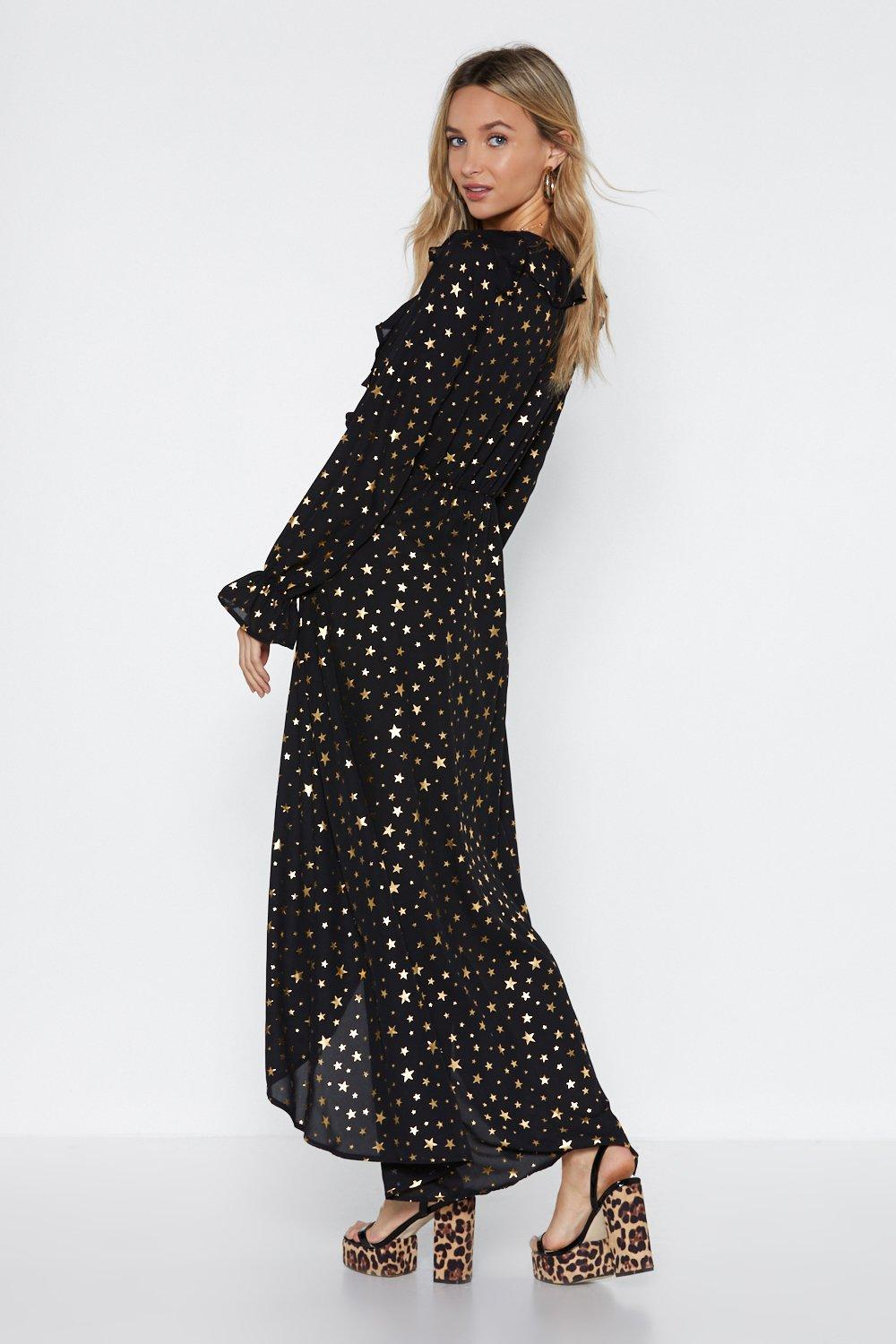 ac81ca1779e2 Distant Star Ruffle Dress. Hover to zoom