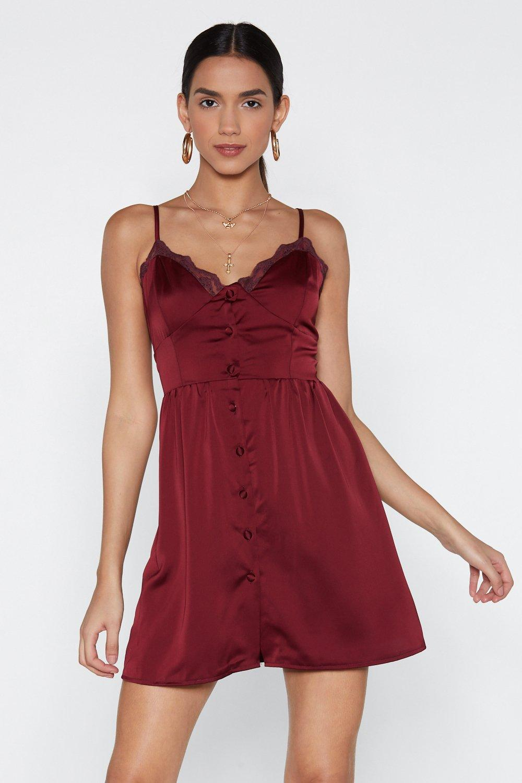 957025d78ec7a Slumber Party Satin Dress | Shop Clothes at Nasty Gal!