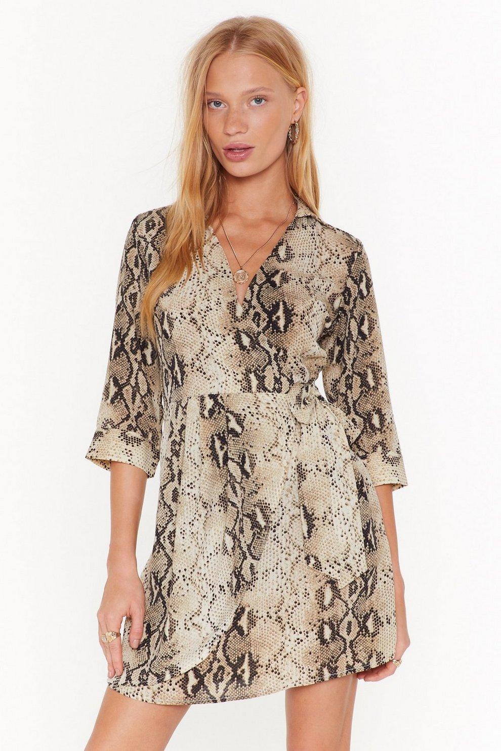 d05068ee61f Queen Cobra Snake Dress