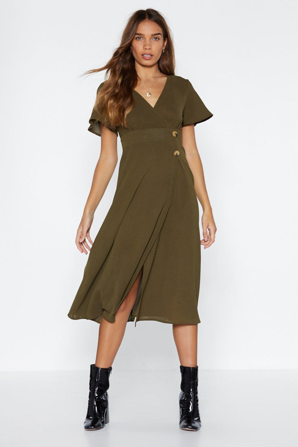 make it a double midi dress