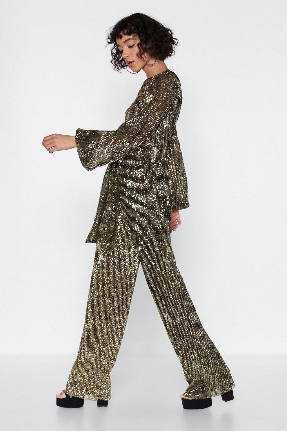 795e7b9b31e Disco with It Sequin Jumpsuit