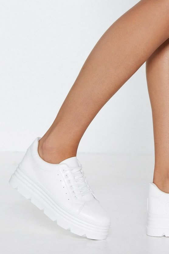 Make A Break For It Platform Sneaker by Nasty Gal