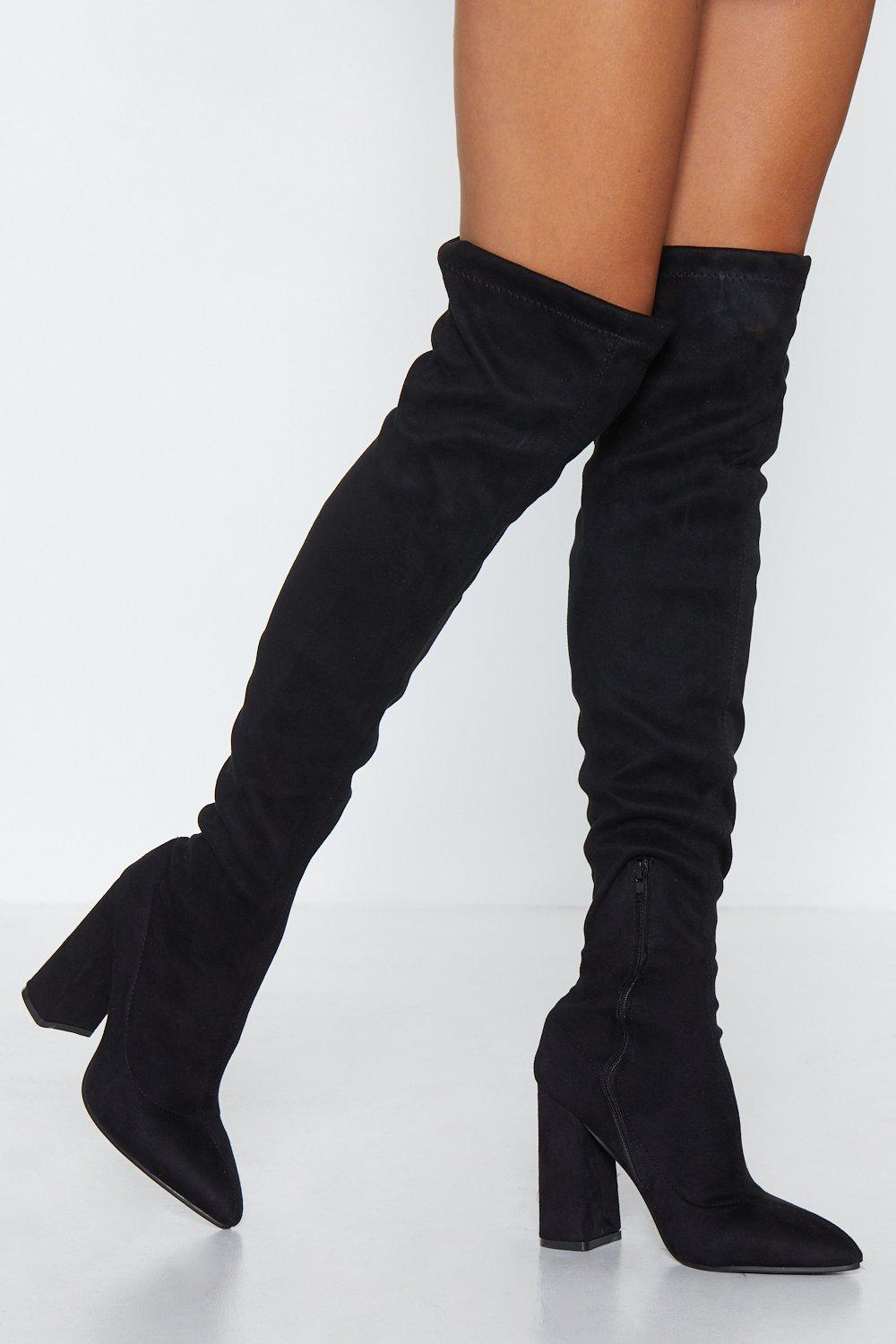 8200b98c16 Raise the Stakes Thigh-High Boot | Shop Clothes at Nasty Gal!