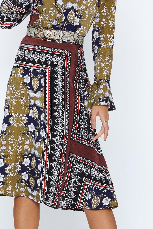 7f9670854 All Good Things Mixed Print Dress | Shop Clothes at Nasty Gal!