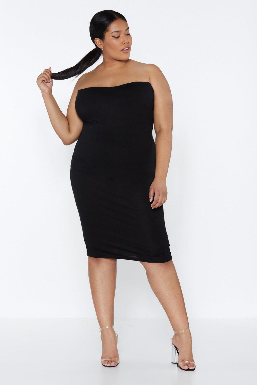 3c0cfbc394aa Keep It On the Bandeau Midi Dress | Shop Clothes at Nasty Gal!