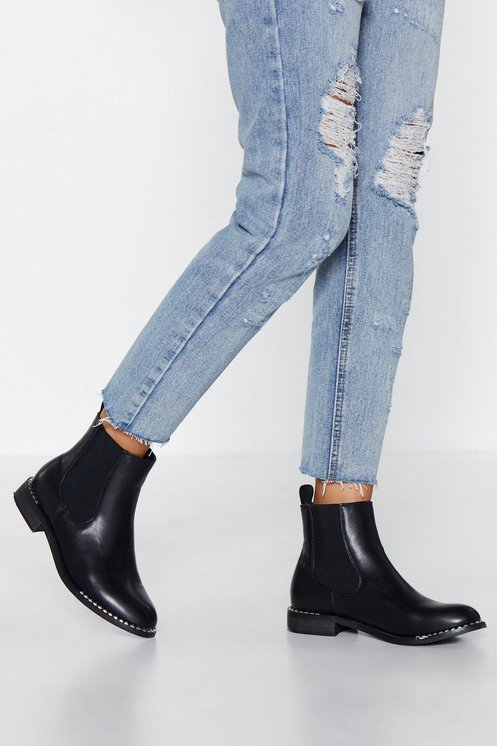 f53988e36ca Stood On the Edge Chelsea Boot | Shop Clothes at Nasty Gal!