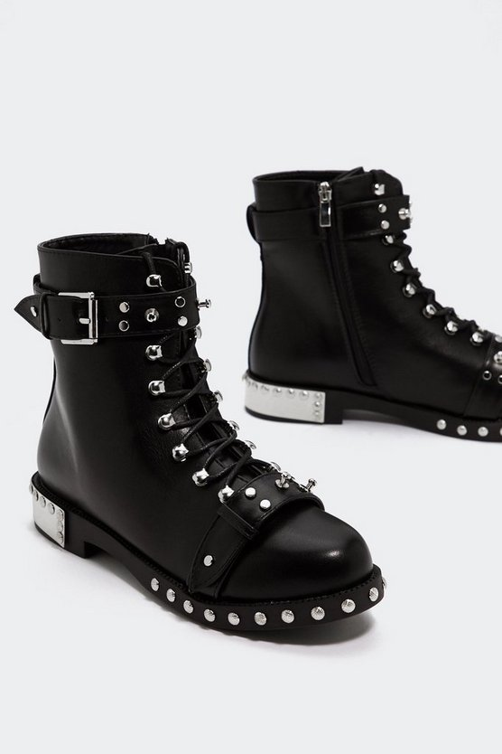 Slayer Them Embellished Boot by Nasty Gal