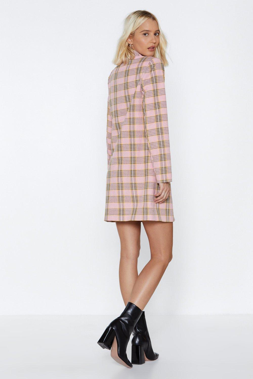 bf1dd6cd1244 Plaid Decisions Blazer Dress | Shop Clothes at Nasty Gal!