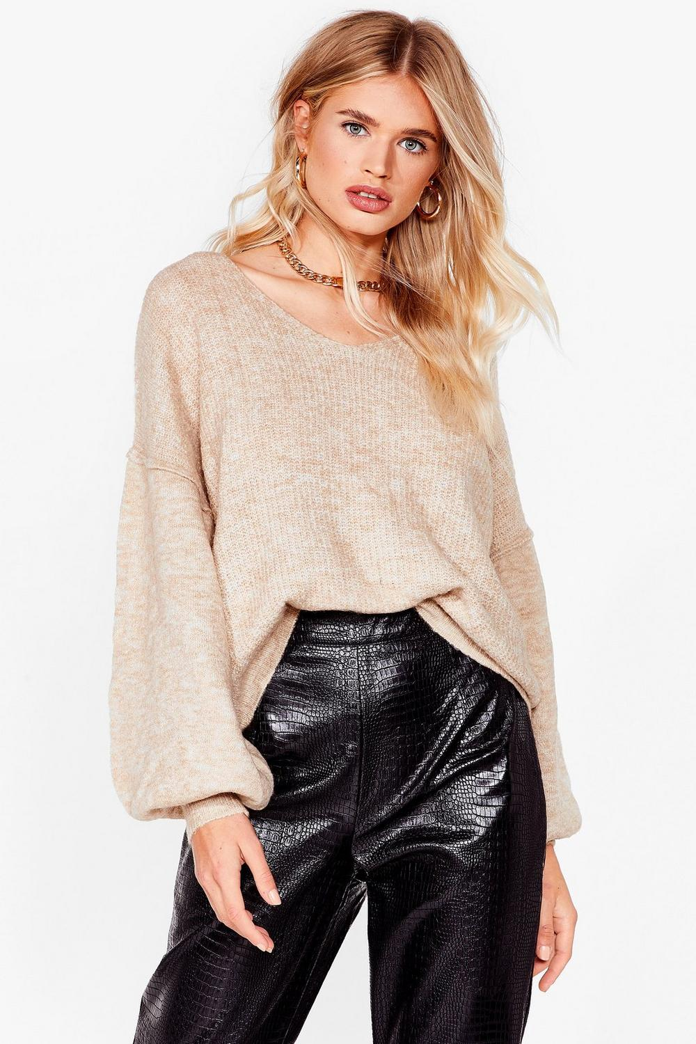 5ab5f158425248 Warm Up to Me Balloon Sleeve Sweater | Shop Clothes at Nasty Gal!