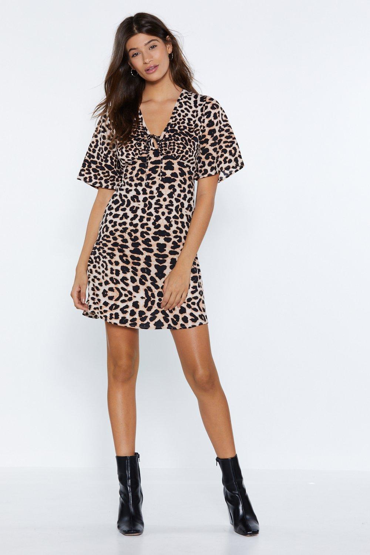 224eefc8965 ... Leopard Shirt Dress. Hover to zoom