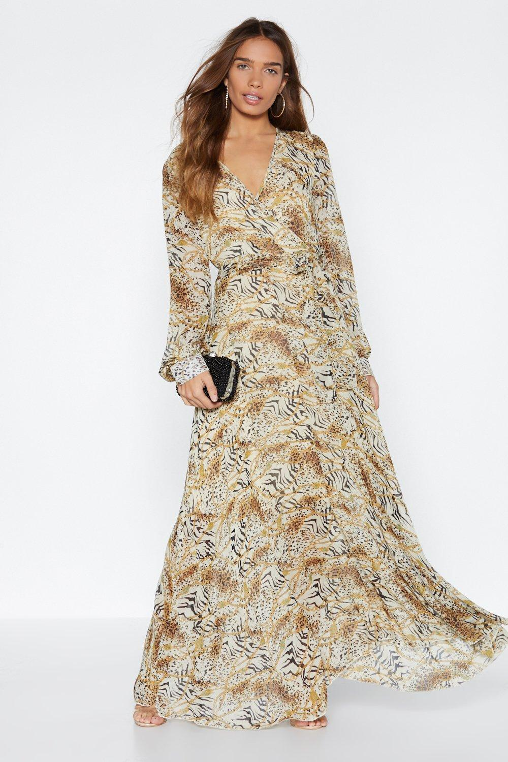 ea6d66b1a Eye of the Tiger Maxi Dress | Shop Clothes at Nasty Gal!