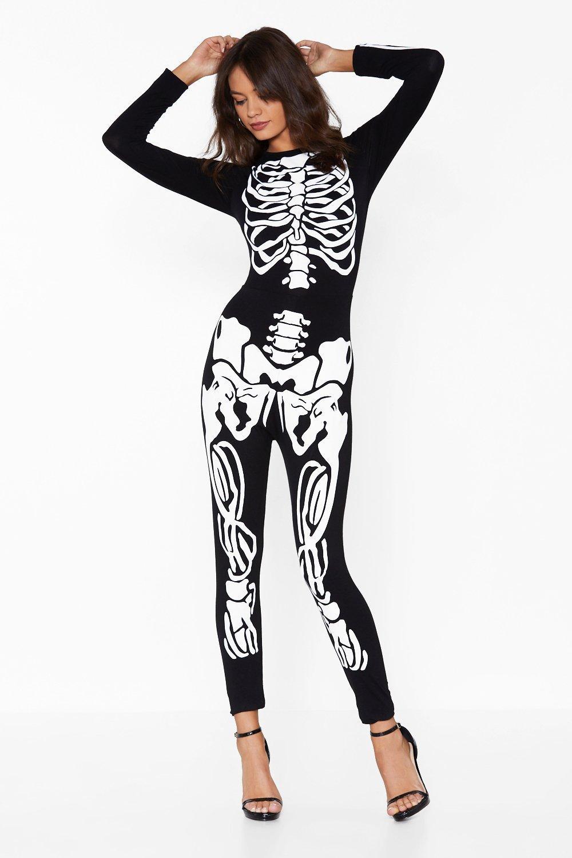 eccae234b9ac Just Bone It Skeleton Jumpsuit