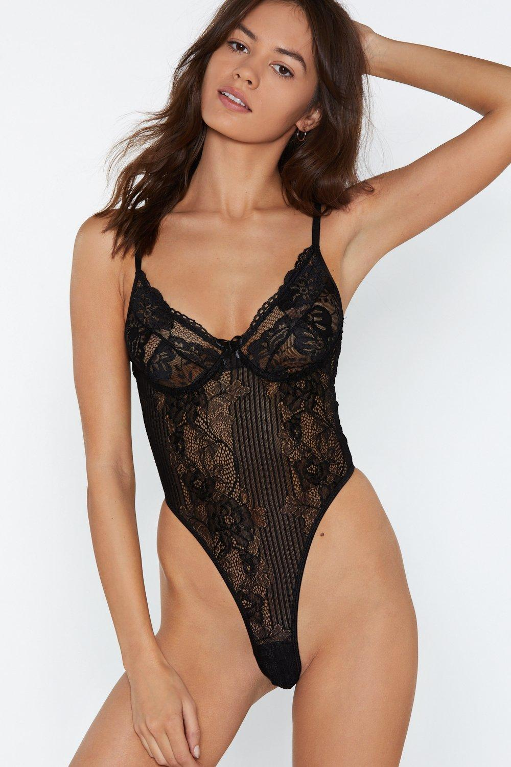 86346f997137 Lace Bodysuit Black | Shop Clothes at Nasty Gal!