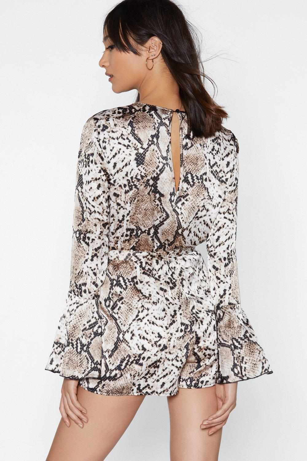 f73ad1f98c Snake You Believe Playsuit