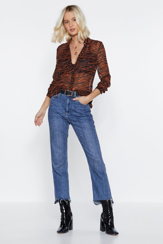 ea41340fca82ef Tiger Stripe Shirt | Shop Clothes at Nasty Gal!