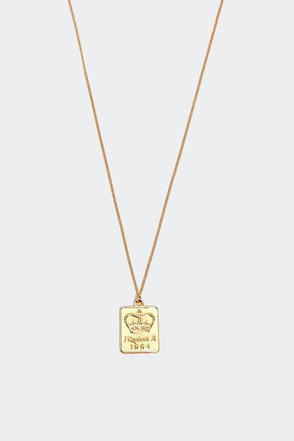 Royal Treatment Pendant Necklace by Nasty Gal