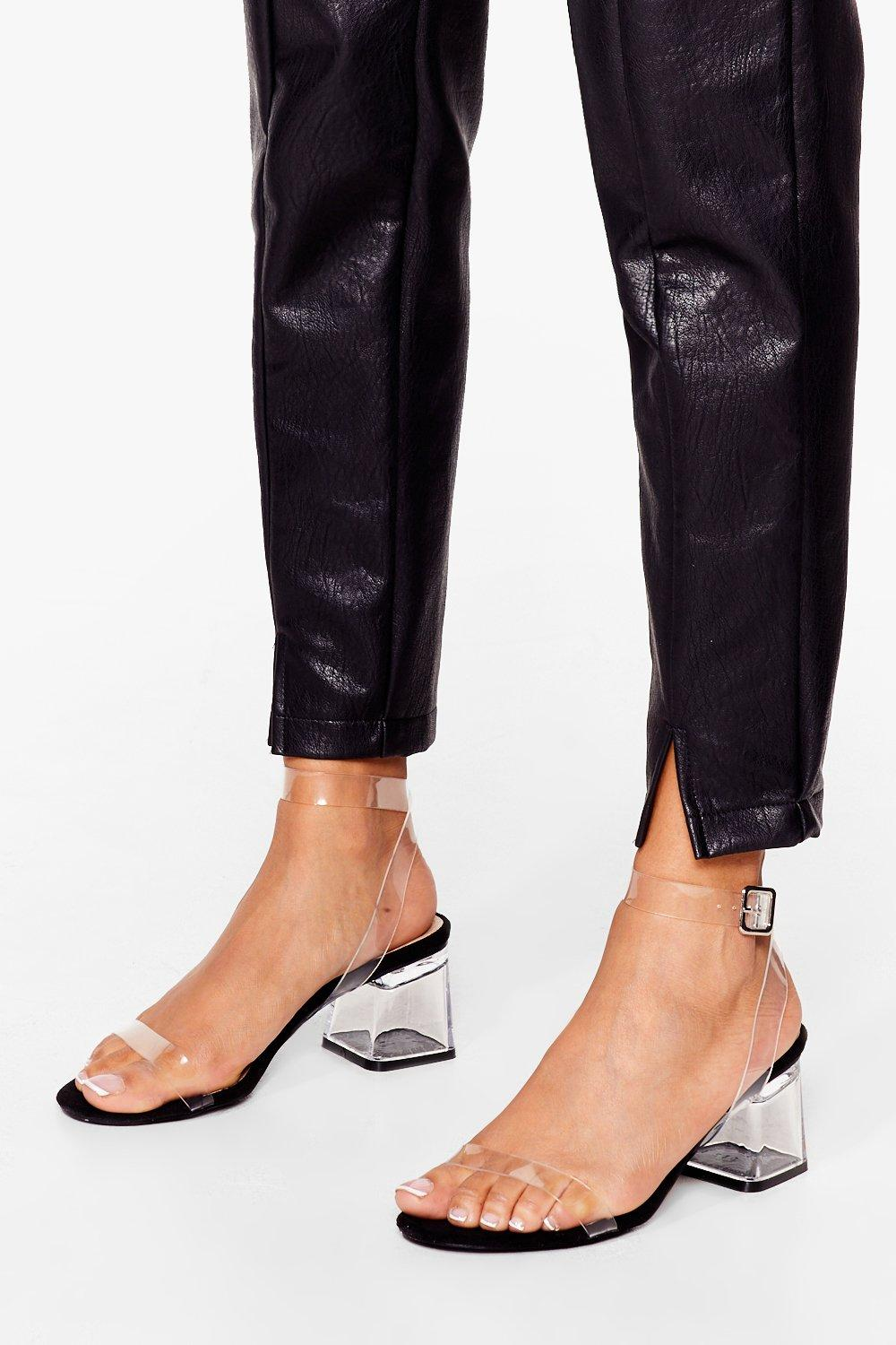 clear the air low heel shop clothes at nasty gal