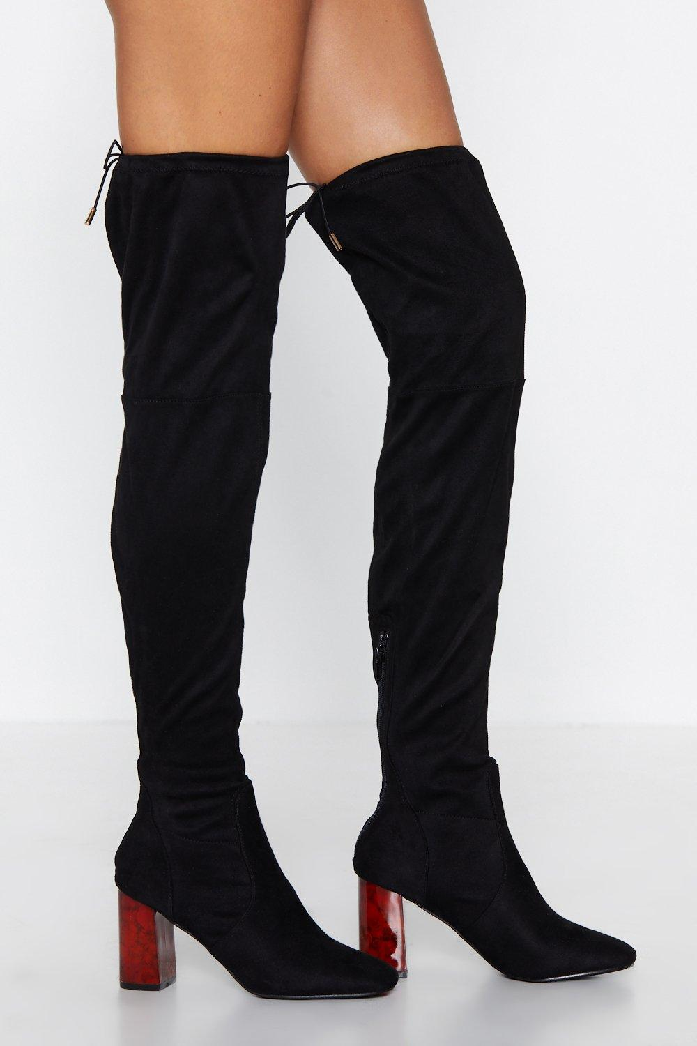 provide plenty of highly coveted range of best selection of Tort New Shoes Thigh-High Boot | Shop Clothes at Nasty Gal!