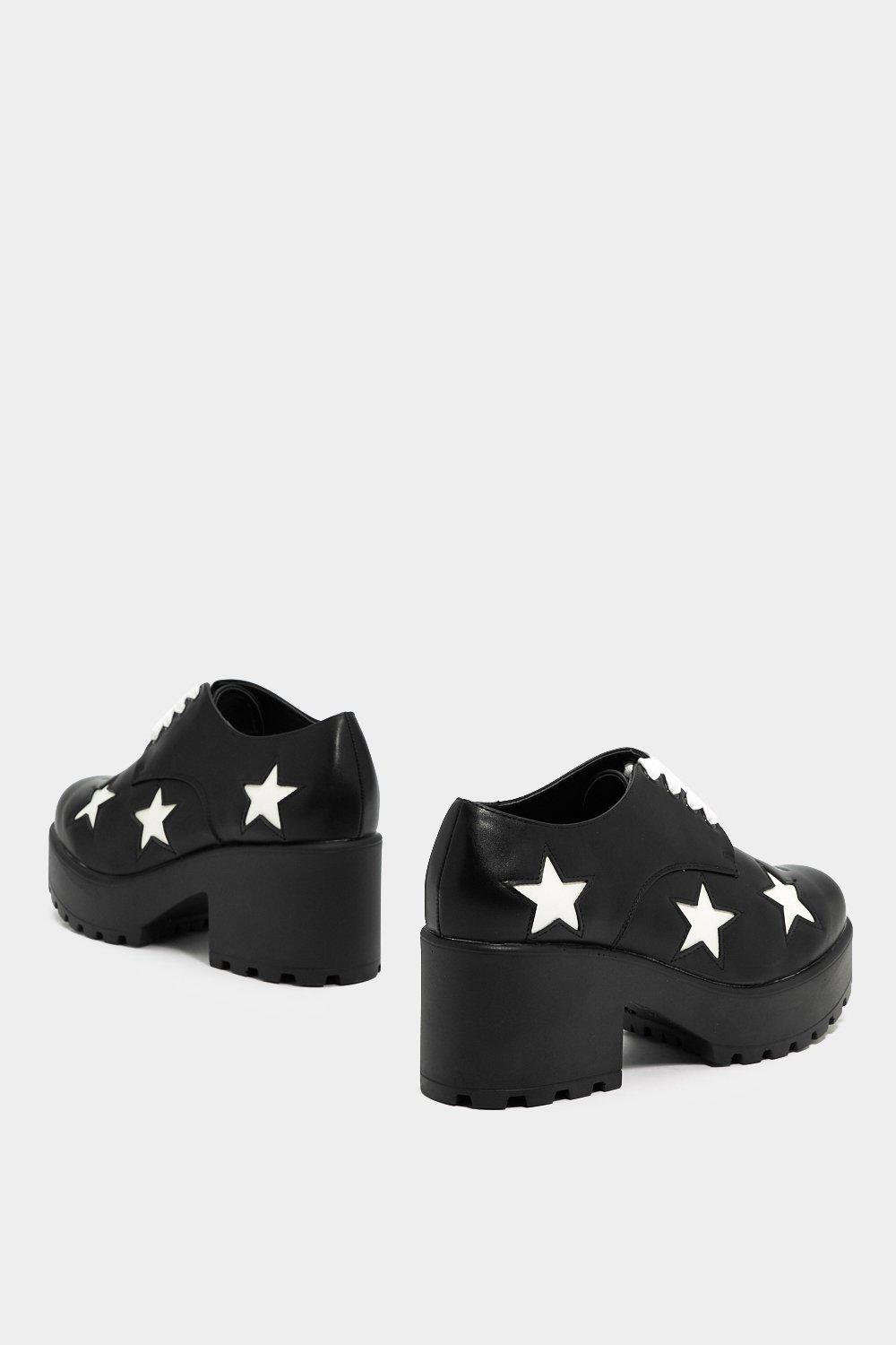 5b0dc4963b7f You re Gonna Go Star Lace-Up Shoe